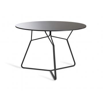 OASIQ SERAC Esstisch mit HPL Tischplatte Ø 105 cm