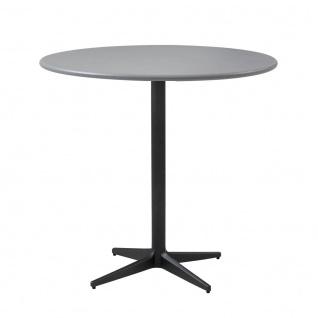Cane-line Drop Gartentisch mit Aluminiumplatte | Bistrotisch Ø 80 cm