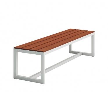 SALER SOFT Teak Gartenbank 150 × 47 cm von GANDIA BLASCO