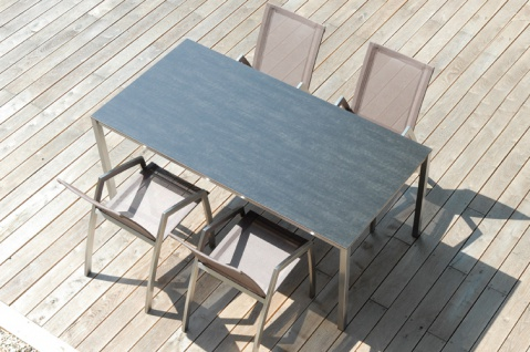 Todus Puro Esstisch 200 × 100 cm, HPL oder Keramikplatte - Vorschau 4