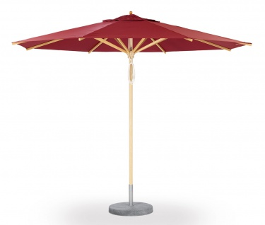 Sonnenschirm Basic von Weishäupl rund 335 cm