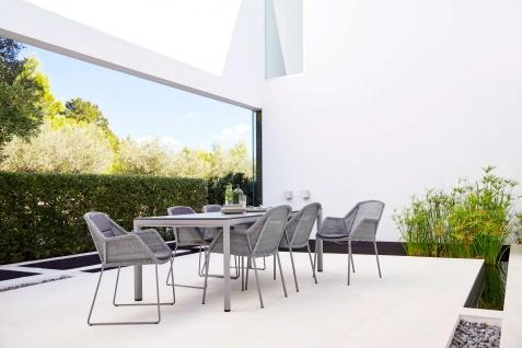 Cane-line Drop Gartentisch mit Aluminium-/Keramikplatte | Bistrotisch Ø 60 cm - Vorschau 4