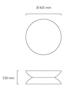 Moree Beistelltisch Lounge Outdoor H34 cm - Vorschau 2