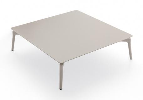 Fast Aikana Modul-Tisch quadratisch 76 cm, Aluminium pulverbeschichtet
