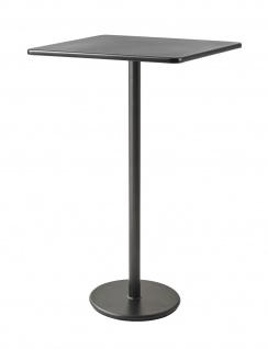 Cane-line Go Bartisch | Bistrotisch mit Aluminium Tischplatte 75 cm