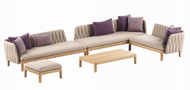 Royal Botania Calypso Lounge Set 07