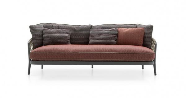 B&B Italia Erica '19 Outdoor 3-Sitzer Sofa 216 cm