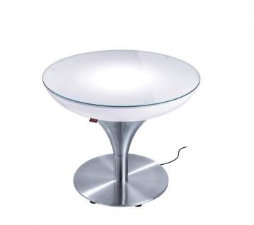 Moree Beistelltisch Lounge M Outdoor H45 cm inkl. Glasplatte Ø 60 cm - Vorschau 1