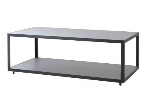 Cane-line Level Loungetisch mit Teak- oder Keramikplatte   Couchtisch 122 cm
