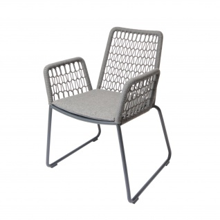 Fischer Möbel Wing Sessel light mit Aluminiumgestell