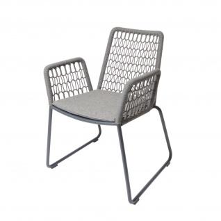 Wing Sessel light mit Aluminiumgestell von Fischer Möbel