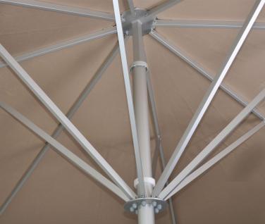 Sonnenschirm Schattello von May, quadratisch 350 x 350 cm, ohne Volant - Vorschau 3
