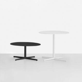 Lapalma Auki Gartentisch rund / Esstisch rund Ø 60 cm / weiß oder schwarz - Vorschau 4