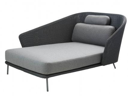 Cane-line Mega Daybed rechts | Lounge Recamiere 128 cm