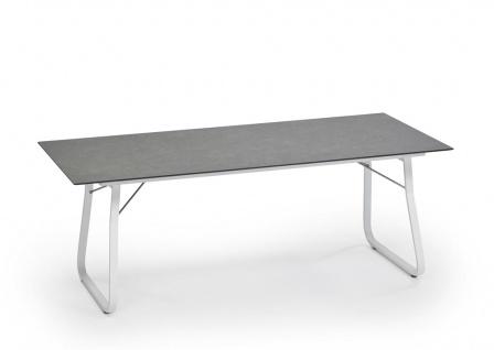 Weishäupl Ahoi klappbarer Esstisch mit HPL- oder Teakholz-Tischplatte