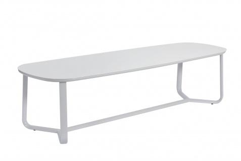 Ego Paris Marumi Esstisch 295 x 98 cm mit Aluminium-, Teak- oder Keramiktischplatte