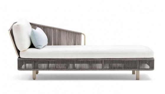 Varaschin Tibidabo Lounge Daybed mit Nierenkissen • Recamiere 198 cm