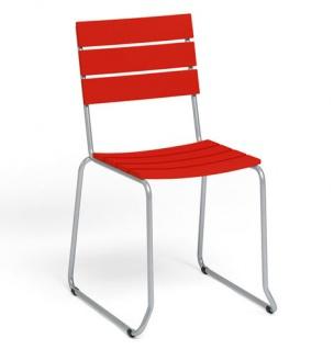 Weishäupl Balcony Stuhl • Belattung aus Kunststoff