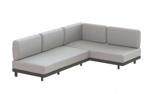 Royal Botania Red Label • Alura Lounge Ecksofa 01 • 245 cm rechts/links
