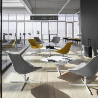 Lapalma Auki Loungetisch / Kaffeetisch quadratisch 80 x 80 cm / weiß oder schwarz - Vorschau 1