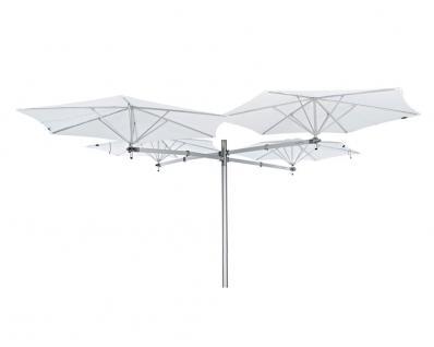 Sonnenschirm Paraflex Multiflex 4 Classic / Neo Ø 270 cm, rund von Umbrosa