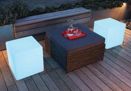 Moree Beistelltisch Cube Outdoor LED (Multicolour/ E27) - Vorschau 3