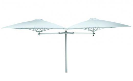 Sonnenschirm Paraflex Duoflex Neo 190 cm, quadratisch von Umbrosa