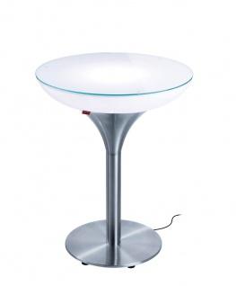 Moree Esstisch Lounge M Outdoor H75 cm inkl. Glasplatte Ø 60 cm