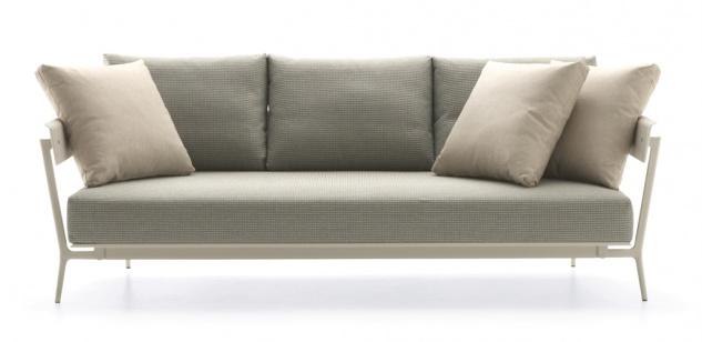 Fast Aikana 3-Sitzer-Sofa mit Armlehnen