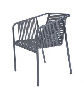 Fischer Möbel Suite Armlehnstuhl exkl. Sitzauflage • Geflecht granite oder basalt