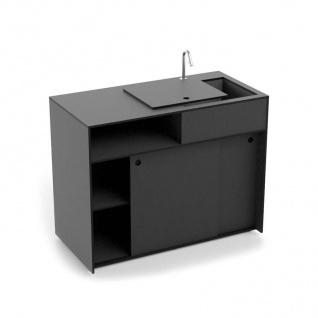 conmoto Ticino Kitchen Water • Küchenmöbel Modul 120 × 60 cm