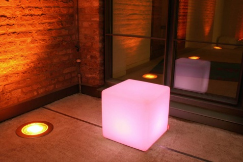 Moree Beistelltisch Cube LED Accu Outdoor Lithium - Vorschau 4