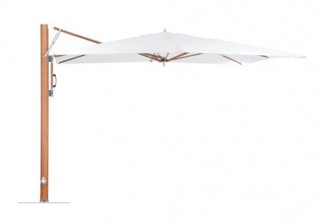 Tuuci Sonnenschirm Vineyard Single Cantilever quadratisch 245 × 365 cm