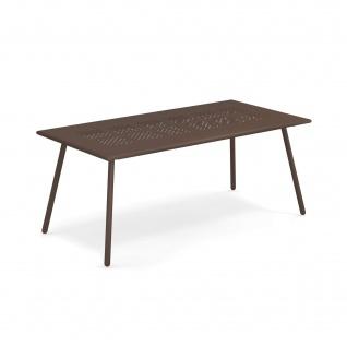 Emu Bridge Gartentisch 180 cm • Esstisch mit Metall Tischplatte