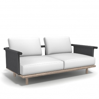 Roda Eden 2-er Gartensofa • Loungemodul 002 + 012 • 200 × 100 cm