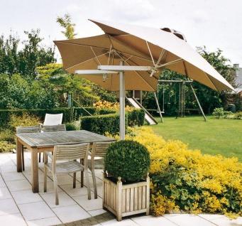 Sonnenschirm Paraflex Duoflex 190 cm, quadratisch von Umbrosa