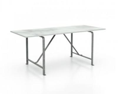 Gervasoni Weekend 38 180 Gartentisch Mit Tischplatte Aus Carrara