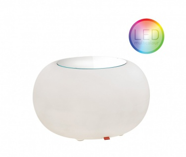 Moree Beistelltisch Bubble Outdoor LED Accu (Multicolour/E27)