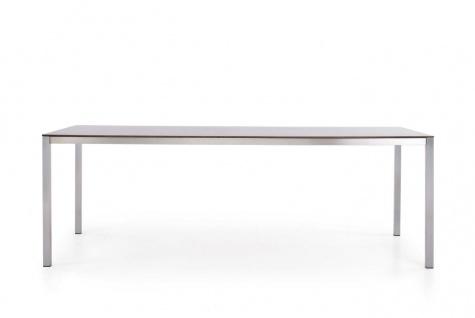 Todus Puro Esstisch 280 × 100 cm, HPL oder Keramikplatte