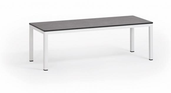 Weishäupl Minu Beistelltisch 120 x 50 cm • Teak- oder HPL-Tischplatte