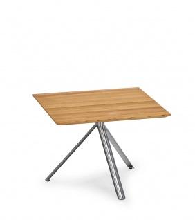 Weishäupl Trio Beistelltisch / Gartentisch (verschiedene Tischplatten)