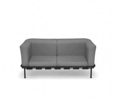 Emu Dock 2er Loungesofa • Aluminium / Acrylstoff • inklusive Polster