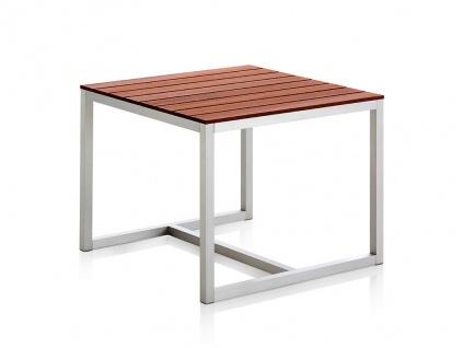 SALER SOFT Teak Gartentisch 91 × 91 cm von GANDIA BLASCO