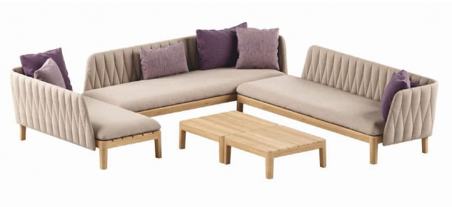 Royal Botania Calypso Lounge Set 06