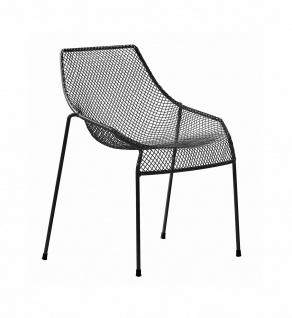 2 Stück • Emu Heaven Gartenstuhl • Outdoor Essstuhl 62 cm • Stahl / Drahtgitter