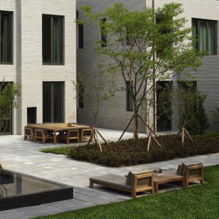 Gartenbank Niek hoch, 120 cm breit von Piet Boon. - Vorschau 3