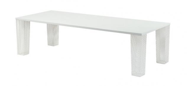 Emu Ivy Esstisch 274 × 113 cm mit Streckmetallgestell weiß