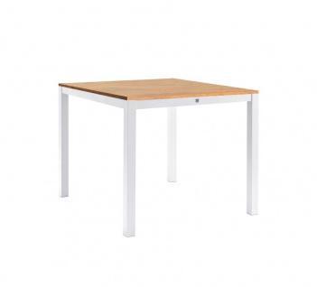 Sifas Kwadra Esstisch 100 cm inkl. Synteak® Tischplatte