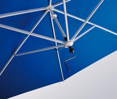 Sonnenschirm Rialto Dual von May, sechseckig 300 cm, Typ RG mit Kurbelantrieb, ohne Volant - Vorschau 3