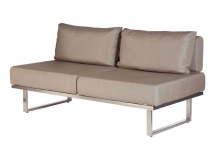Mercury Lounge Deep Seating Mittelmodul Zweisitzer 150 cm von Barlow Tyrie